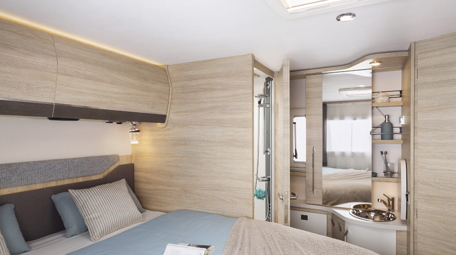 Interior photos RAPIDO Camper 656F