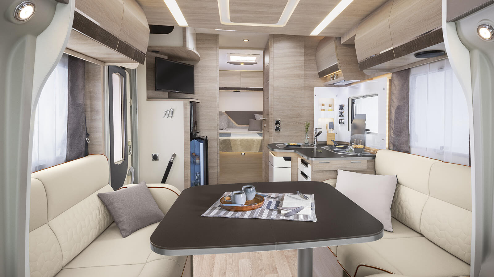 Interior photos RAPIDO Camper 696F