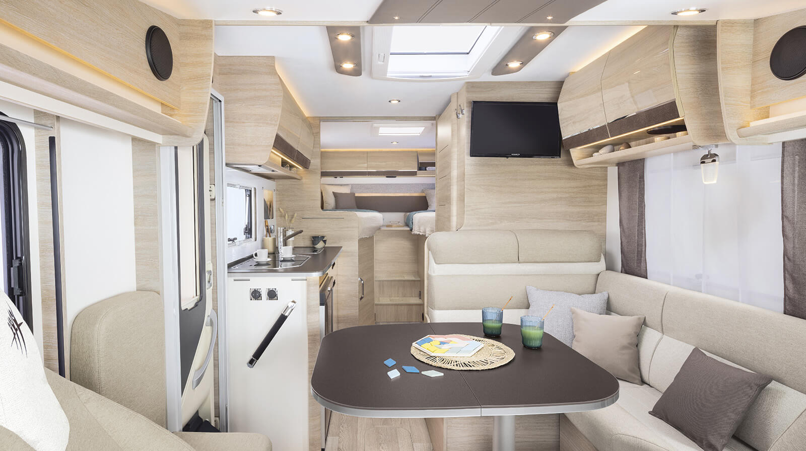 Interior photos RAPIDO Camper 855F
