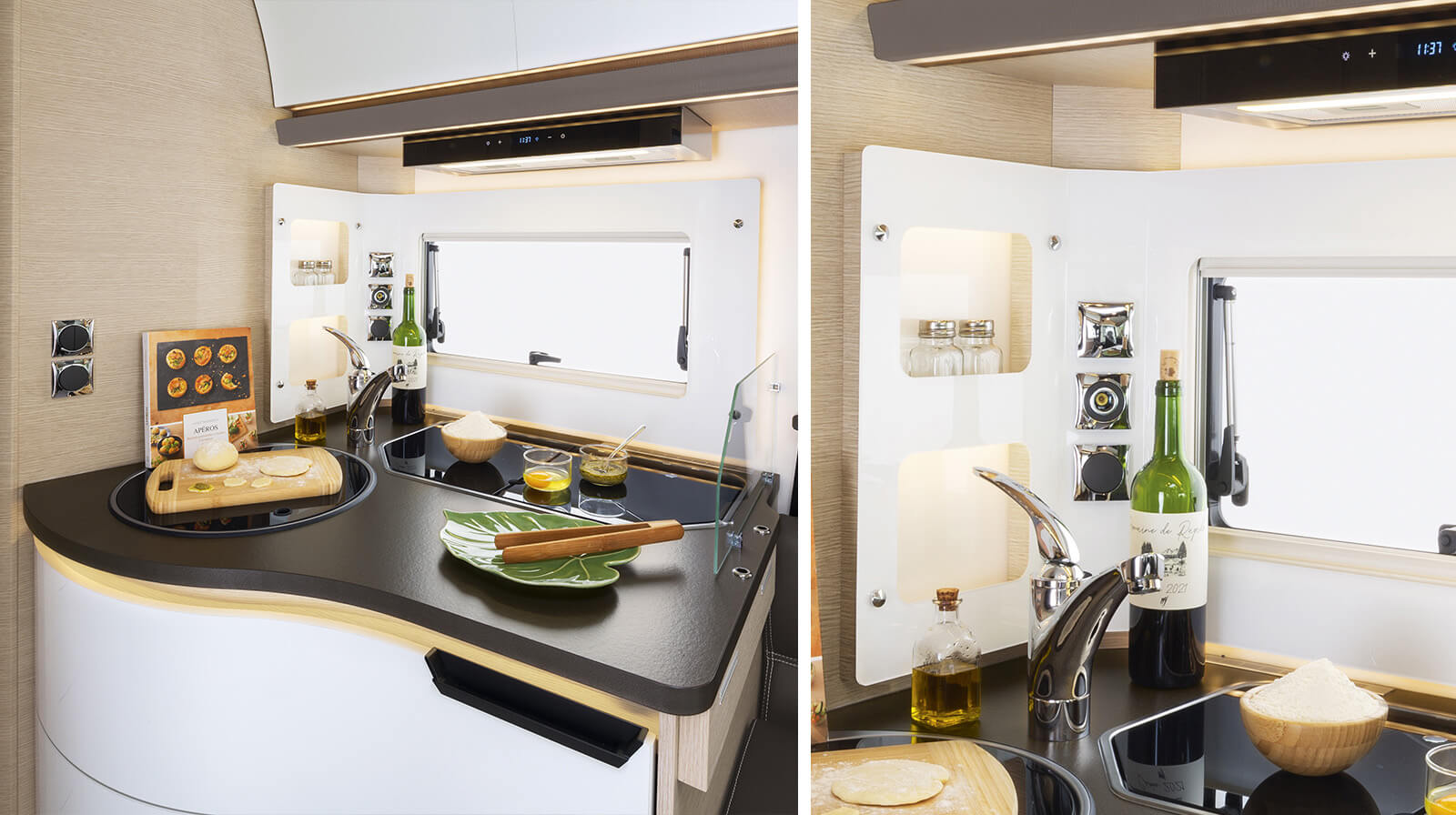 Interior photos RAPIDO Camper M96