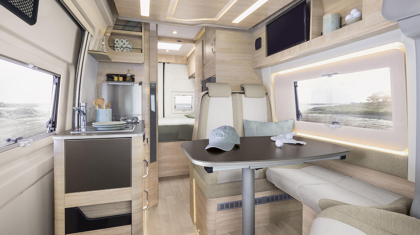 Interior photos RAPIDO Camper V65 XL